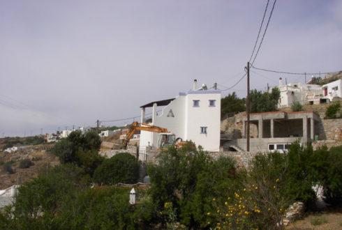 Ύδρευση – Αποχέτευση οικισμού Αληθινής Δήμου Άνω Σύρου