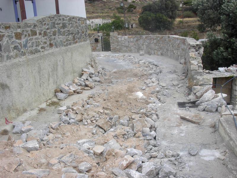 Ύδρευση – Αποχέτευση οικισμού Αληθινής Δήμου Άνω Σύρου gallery