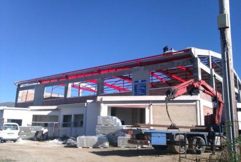 Κατασκευή κλειστού γυμναστηρίου Δήμου Τήνου-Αποπεράτωση