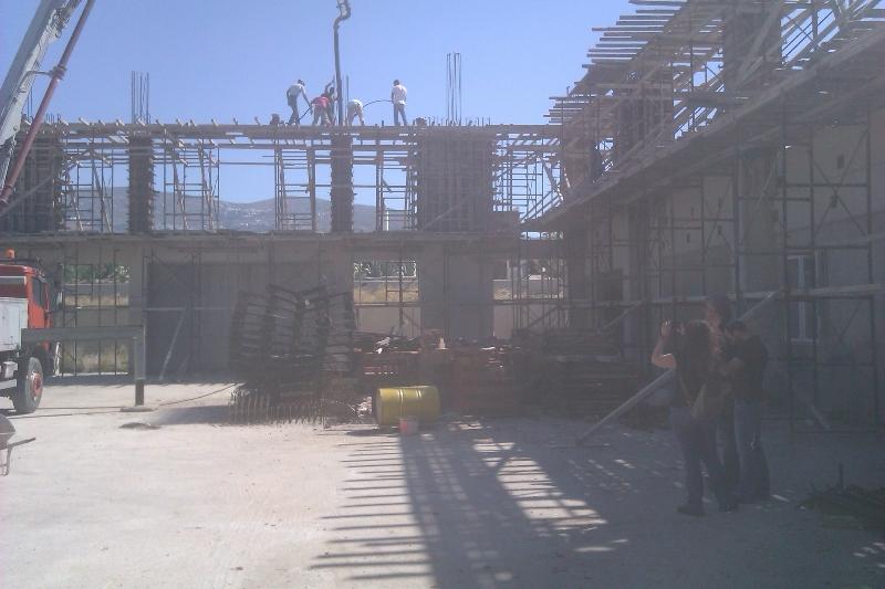Κατασκευή κλειστού γυμναστηρίου Δήμου Τήνου-Αποπεράτωση gallery