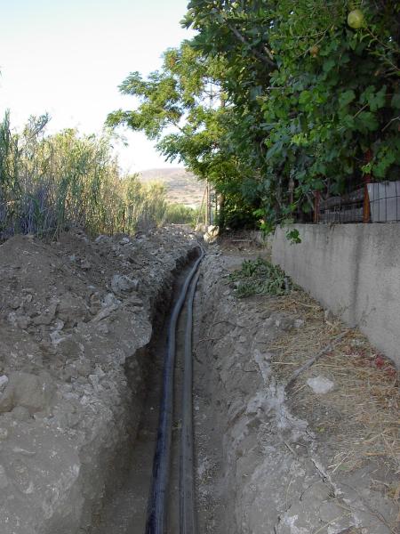 Κατασκευή καταθλιπτικού αγωγού Α/Φ Γαλησσά και δικτύων ύδρευσης Άνω Σύρου gallery
