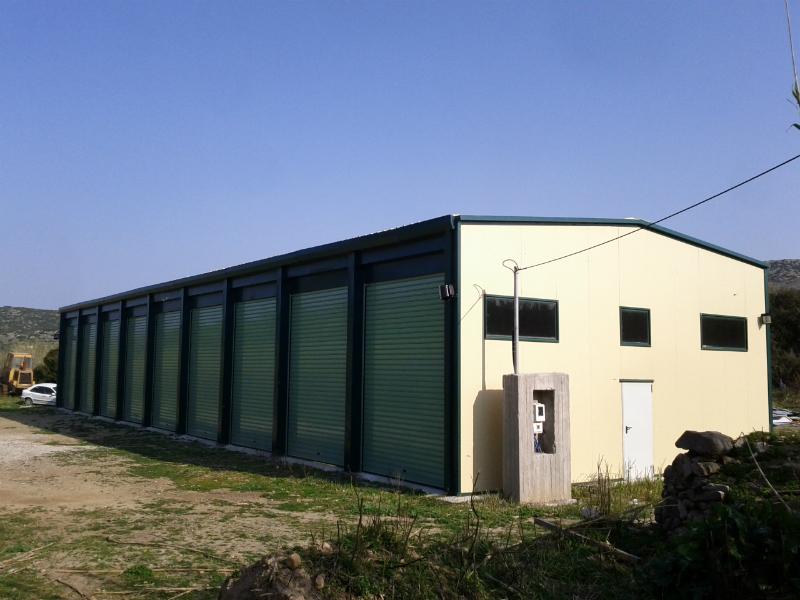 Κατασκευή κλειστού χώρου φύλαξης απορριμματοφόρων, οχημάτων. gallery