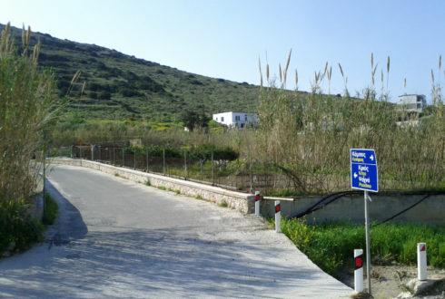 Βελτίωση – ασφαλτόστρωση οδού στην περιοχή «Κριός» του Τ.Δ. Φοίνικα και παράλληλα τοποθέτηση τμήματος υπόγειου αγωγού ύδρευσης